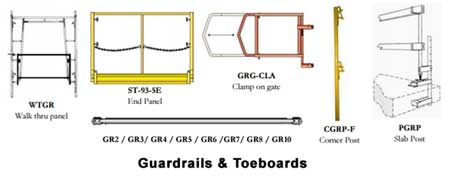guardrails and toeboards