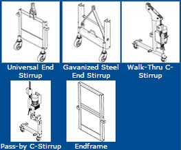 Stirrup and Endframe