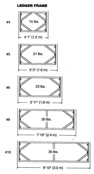 ledger frame